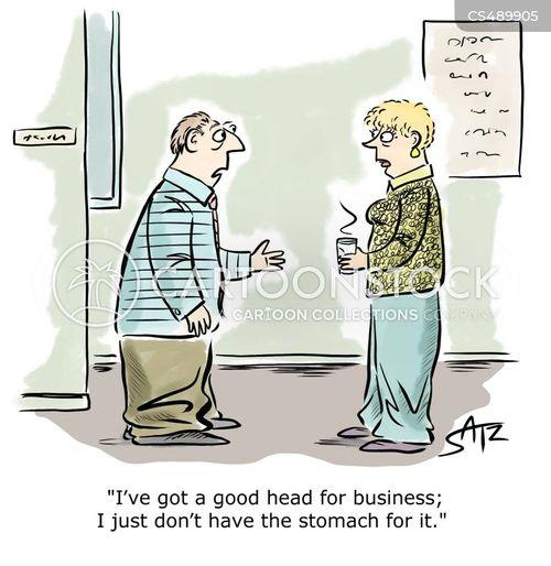 cutthroat environment cartoon
