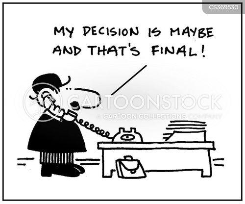 final decisions cartoon