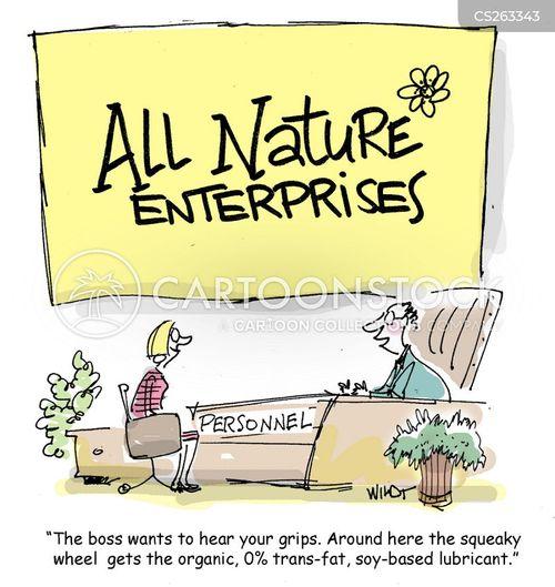 being heard at work cartoon