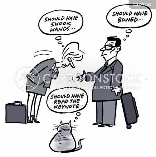 international businesses cartoon