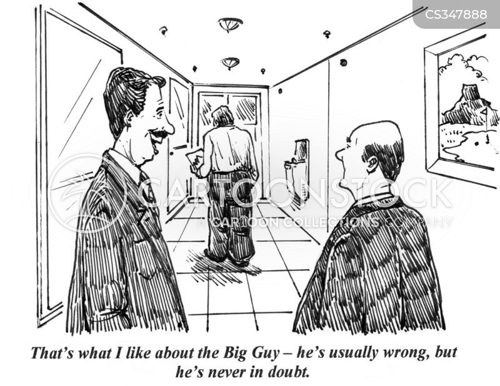 doubter cartoon
