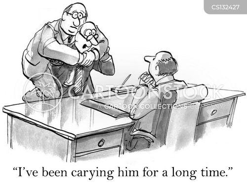 piggyback cartoon