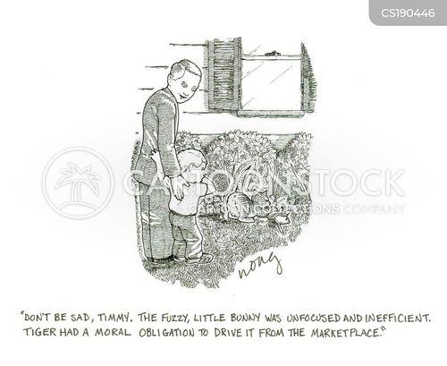 economic theories cartoon