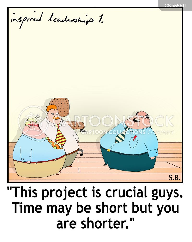 time management skills cartoon