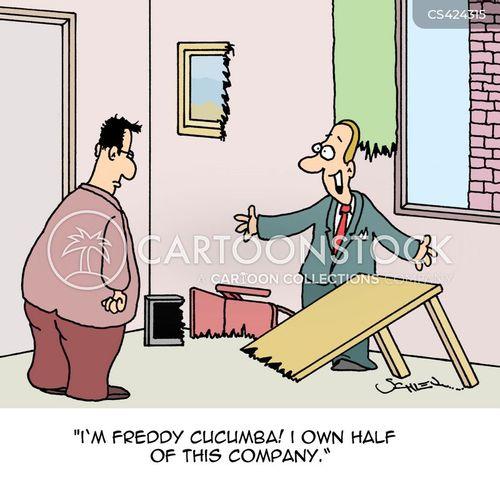 company owner cartoon