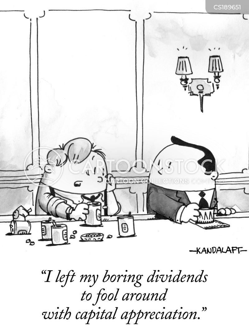 dividend cartoon