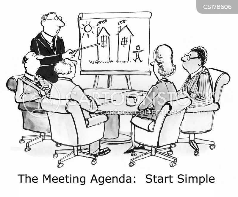 agendas cartoon