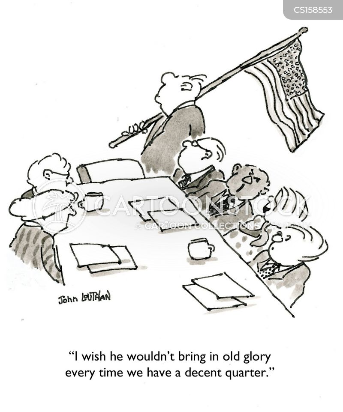 corporate meetings cartoon