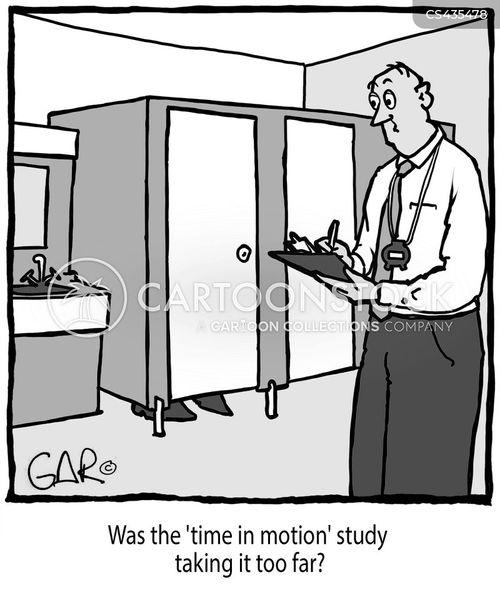 efficiency study cartoon