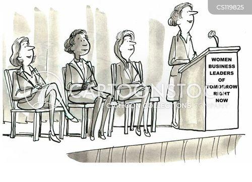 female empowerment cartoon