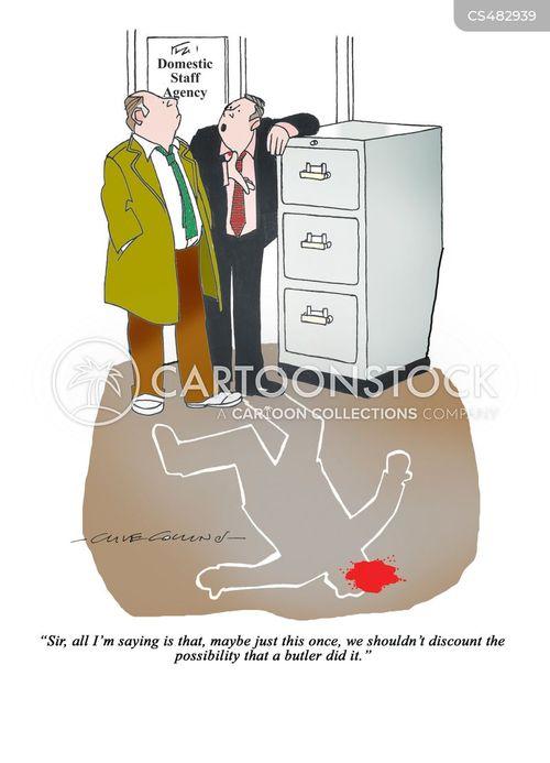 obvious suspect cartoon