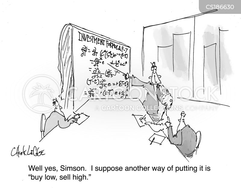 mathematical cartoon