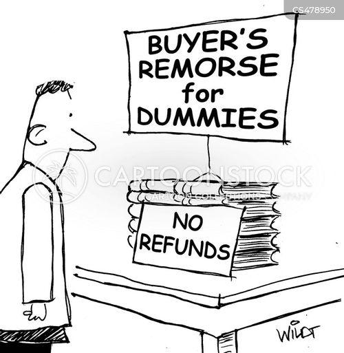 impulse buying cartoon