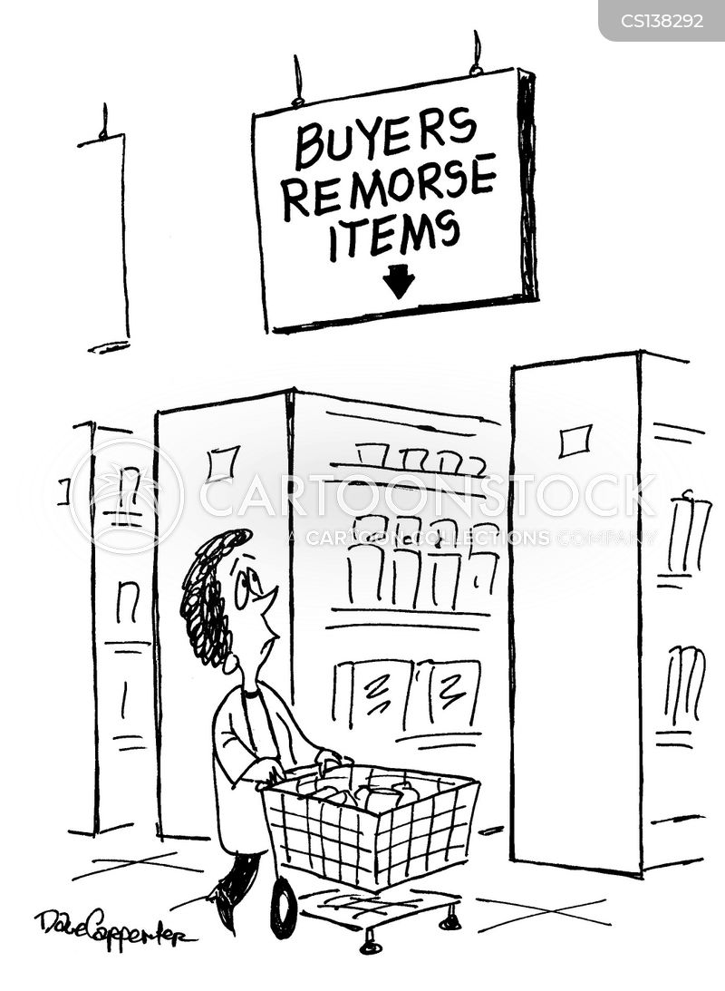 impulse buys cartoon