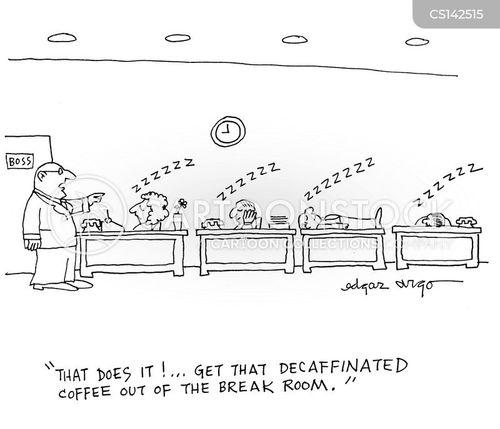 decaff cartoon