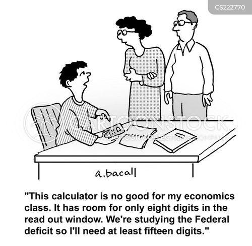 government debt cartoon