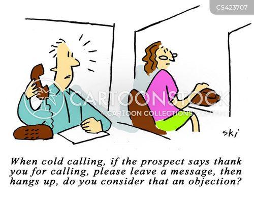 nuisance call cartoon