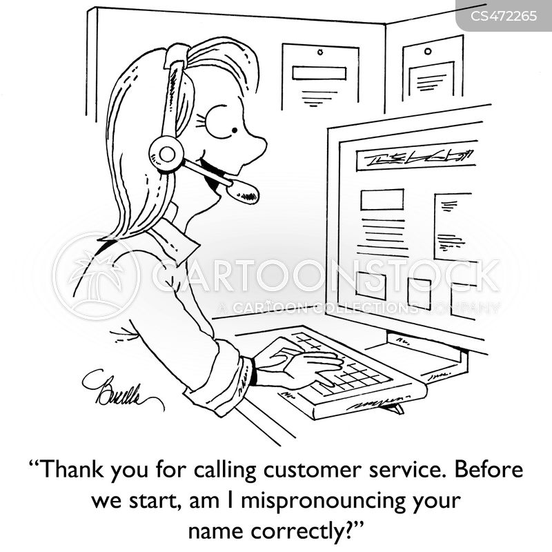 mispronunciation cartoon
