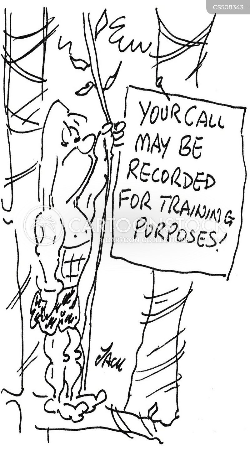 training purposes cartoon