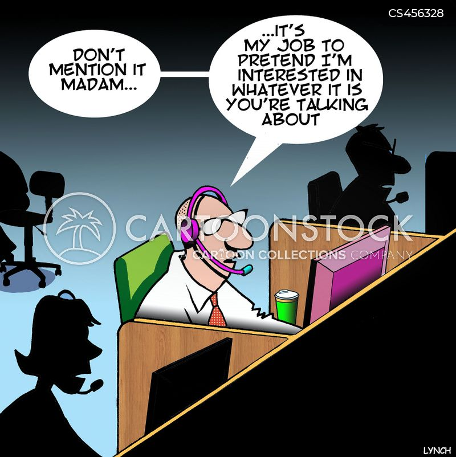 call waiting cartoon