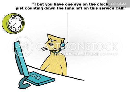 customer feedbacks cartoon