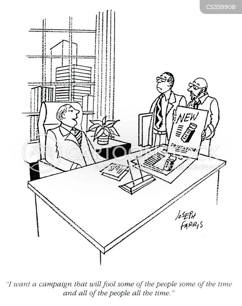 contradicts cartoon