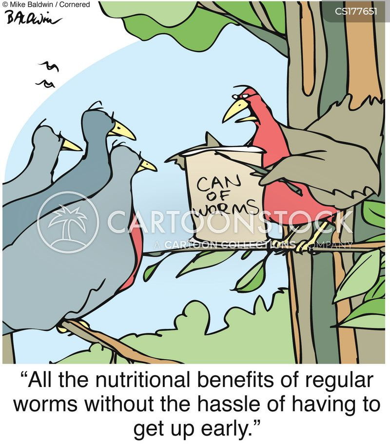 nutrient cartoon