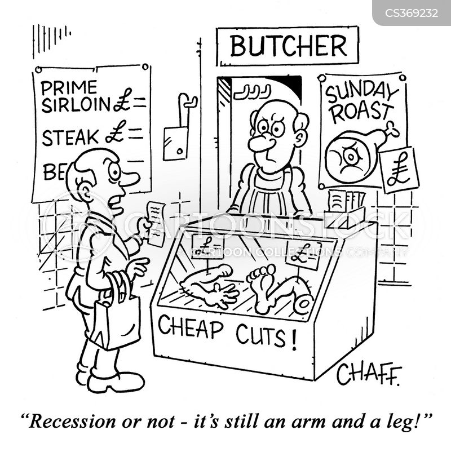 butcher shops cartoon