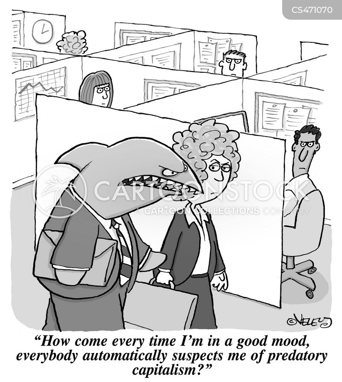 predatory capitalism cartoon
