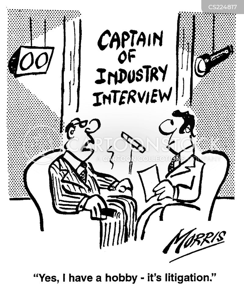 captain of industry cartoon