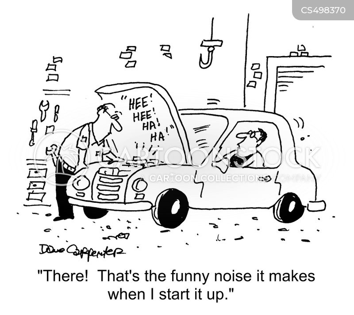 mechanical problems cartoon