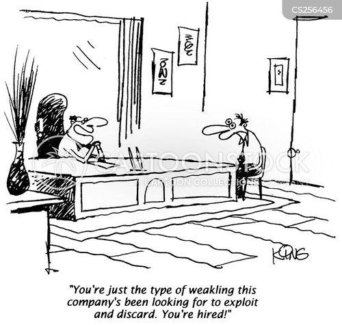 weakling cartoon