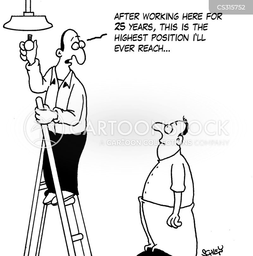 step ladders cartoon