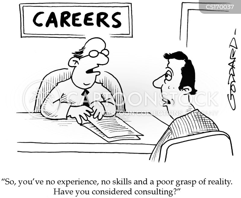 perfect jobs cartoon