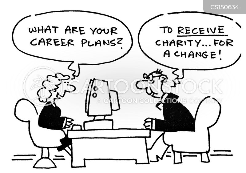 career service cartoon