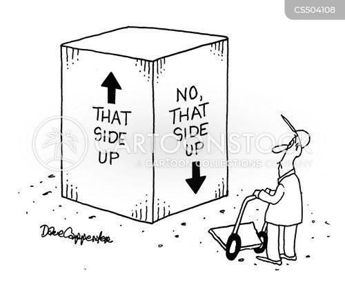 shipping company cartoon