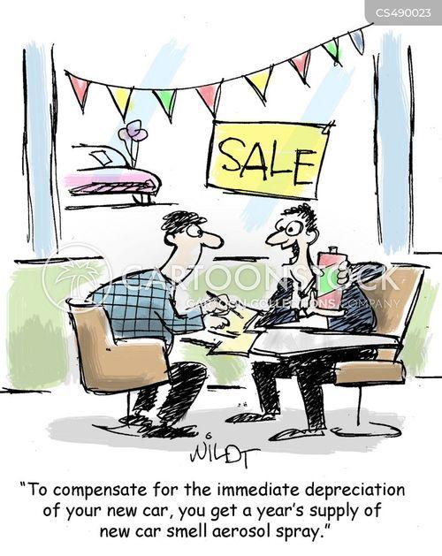 depreciation cartoon