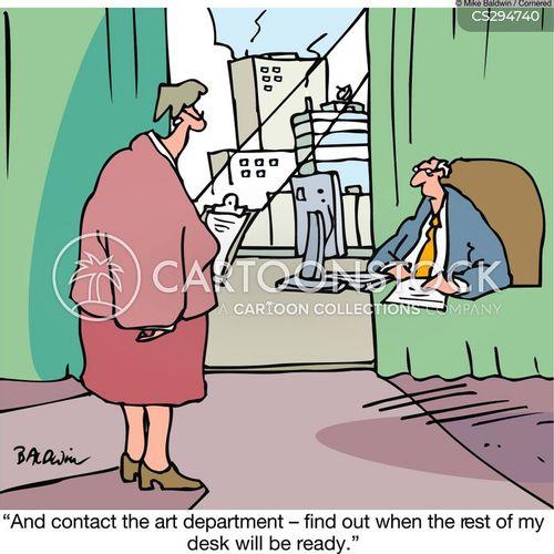 art department cartoon