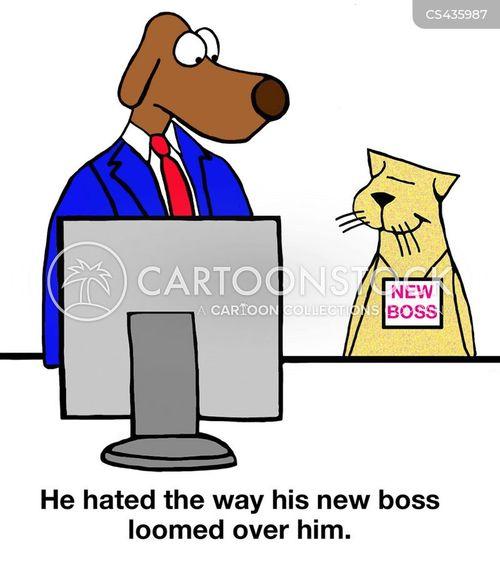 new boss cartoon