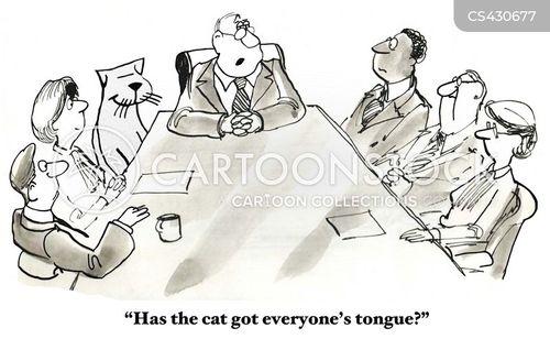 silences cartoon
