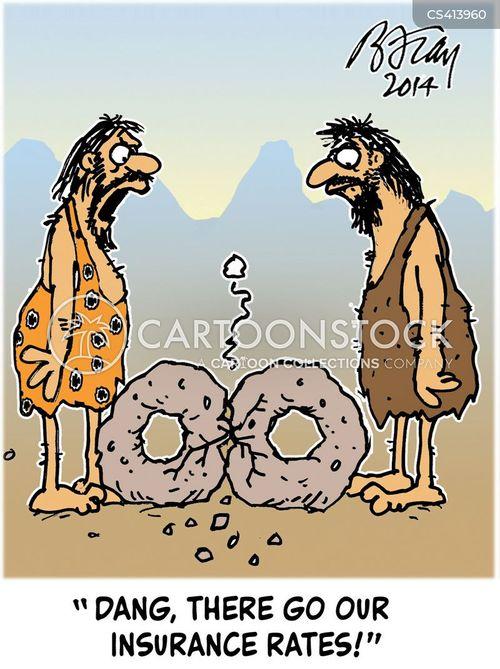 insurance premium cartoon