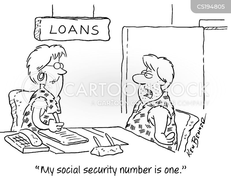 loans officers cartoon