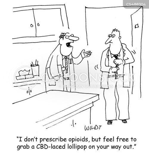 pain reliever cartoon