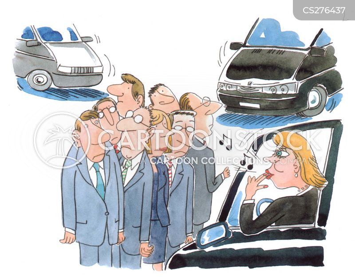 rounded up cartoon