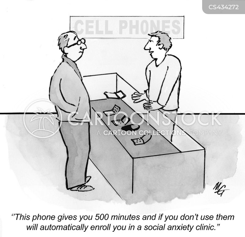 cell plans cartoon