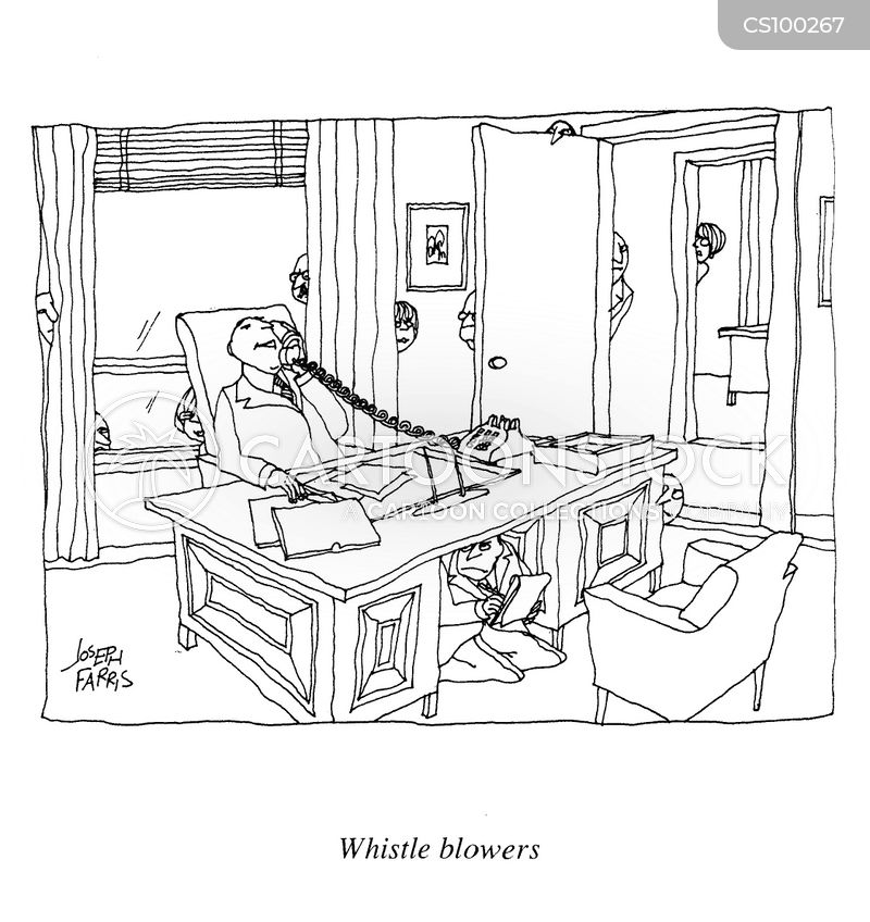 whistle blowing cartoon