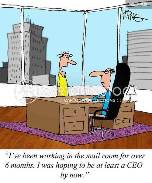 mail room cartoon
