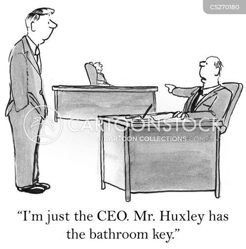 bathroom key cartoon