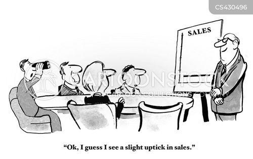 profits chart cartoon