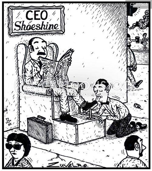 shoeshine cartoon